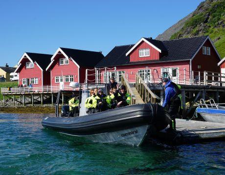 Rorbu rental (fisherman's cabin)