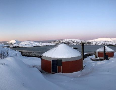 Two days Arctic Camp with Winter Kayaking