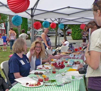 Rhubarb Pie Festival in Sumner, Washington