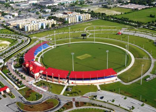 Central Broward Regional Park Stadium brings the international game of Cricket to locals and visitors alike.