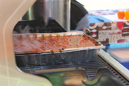 Chili Cook Off at the Kleefeld Honey Festival