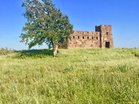 Coronado Heights Castle in Kansas