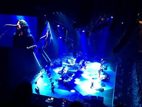 Foo Fighters at Matt Knight by Colin Morton
