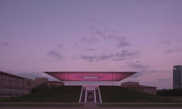 James Turrell Skyspace at dusk