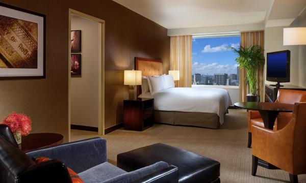 Room at Hotel Hilton Americas