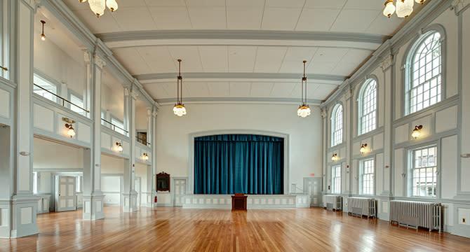 Parish-House stage