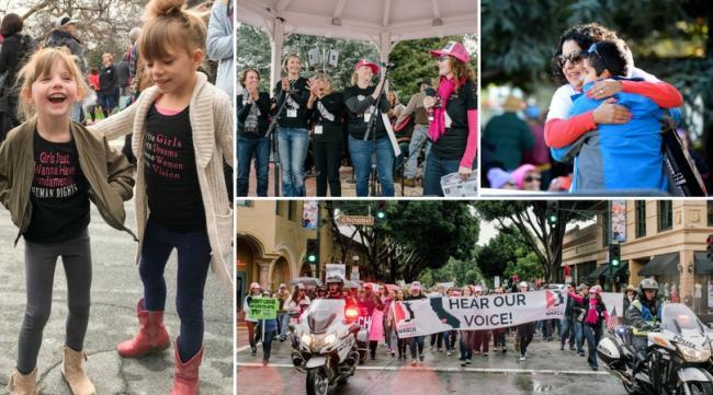 Women's March SLO