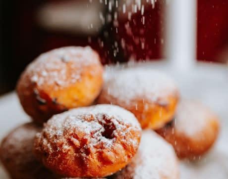 donuts for Dad at Casa Larga Vineyards
