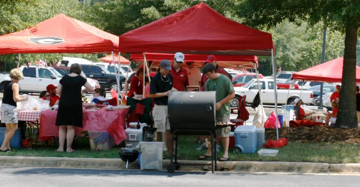 UGA Football Tailgating