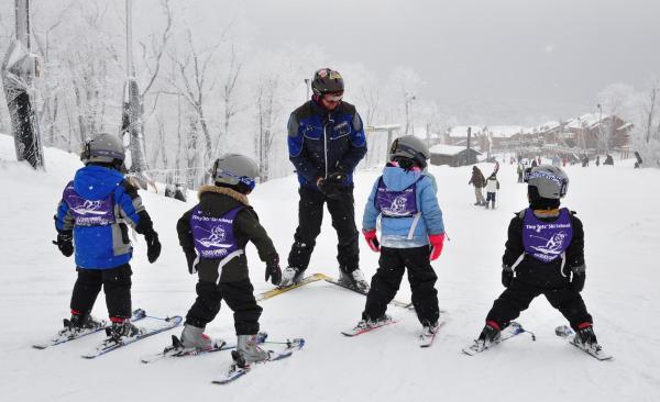 Tiny Tots Ski School