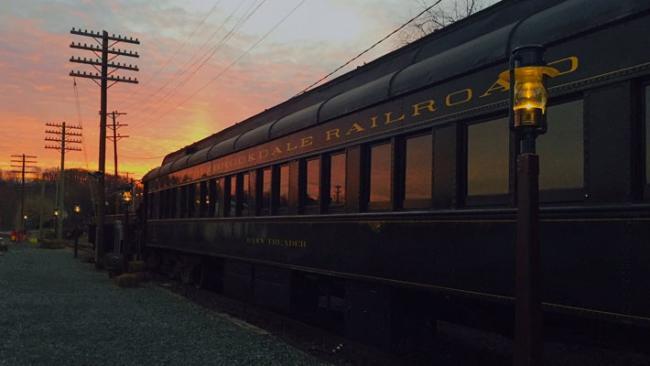 Colebrookdale Railroad Twilight