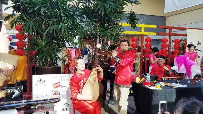 Chinese Light Up Lantern Festival