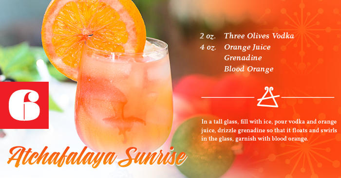 Atchafalaya Sunrise Recipe