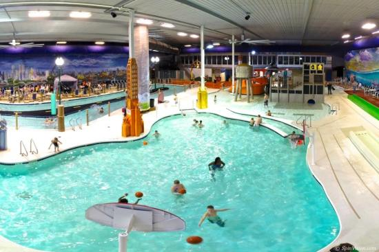 Chaos Water Park at Metropolis Resort in Eau Claire, Wisconsin
