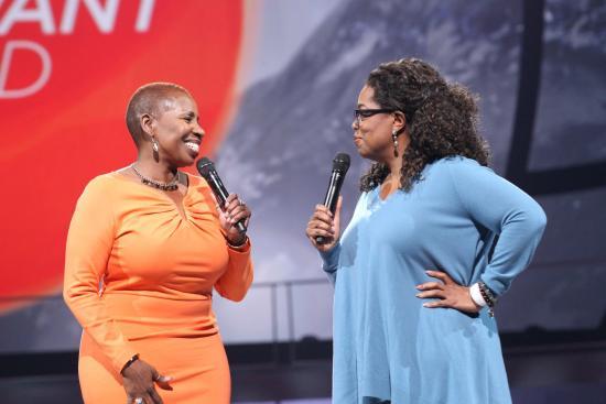 Oprah and Iyan