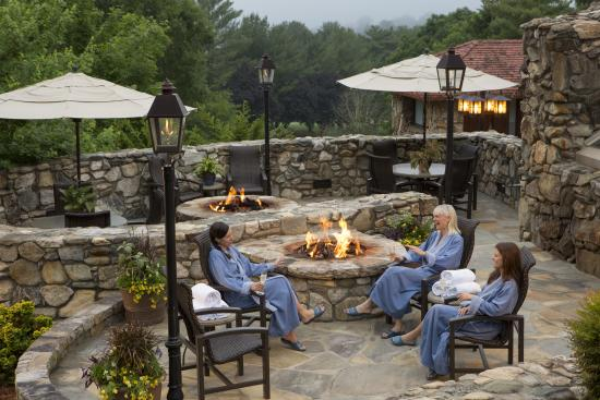 Grove Park Inn Spa Firepits