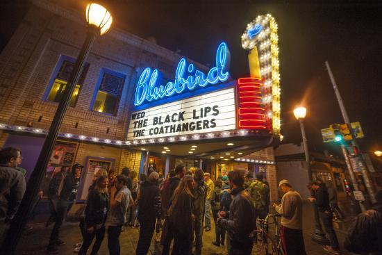 The Bluebird Concert Venue in Denver, CO