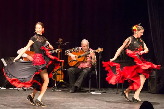 Wonderbound Dance Company doing flamenco dancing