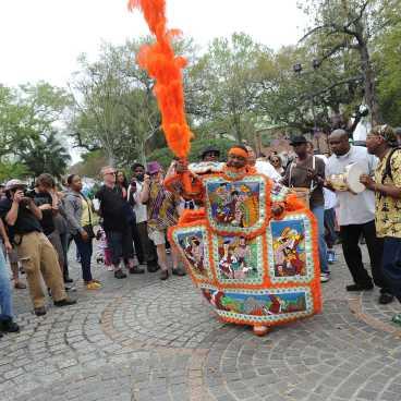 Congo Square- Mardi Gras Indian