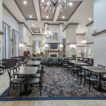 Homewood Suites Downtown Lobby