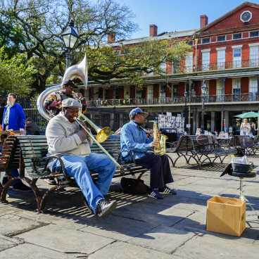 Jackson Square- Street Performer- Live Music