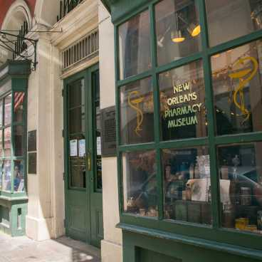 New Orleans Pharmacy Museum Exterior #2