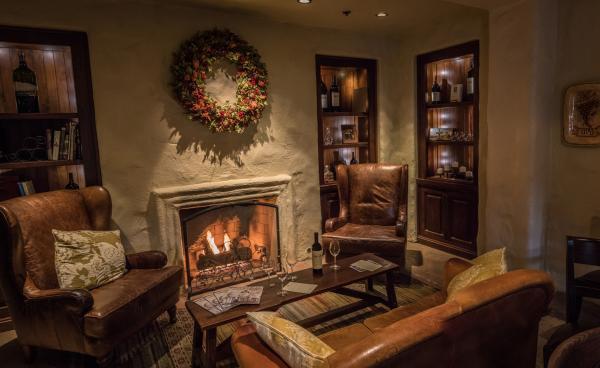 Robert Mondavi Winery Fireplace
