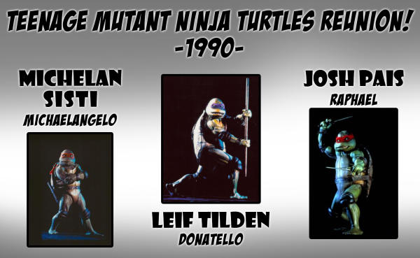 Grand Rapids Comic Con TMNT Reunion