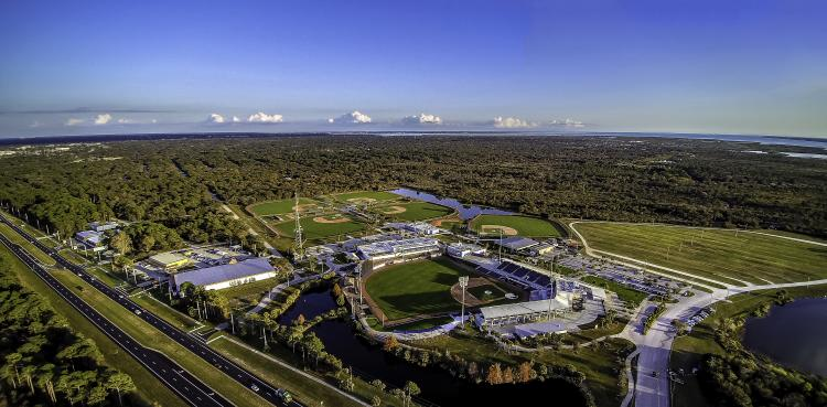 Charlotte Sports Park Aerial