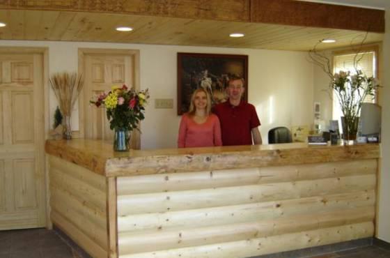 Nordic Lodge Lobby