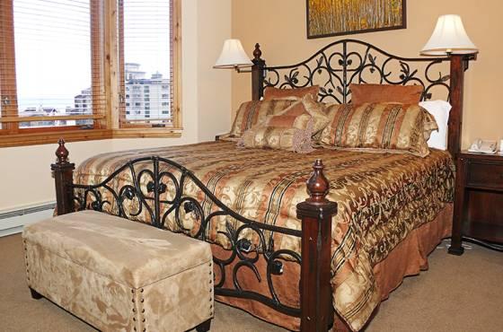 Torian Plum Bedroom