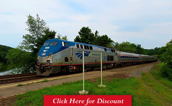 NEW YORK STATE - Save 15% on trains *WITHIN* New York, plus to/from Montreal Amtrak Promo Code: Book at layoffider.ml: See New York and Save (I LOVE NY) Expiration: Book by May 26,