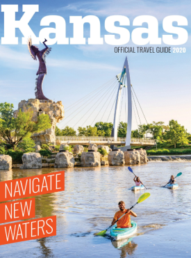 2020 Kansas Travel Guide Cover