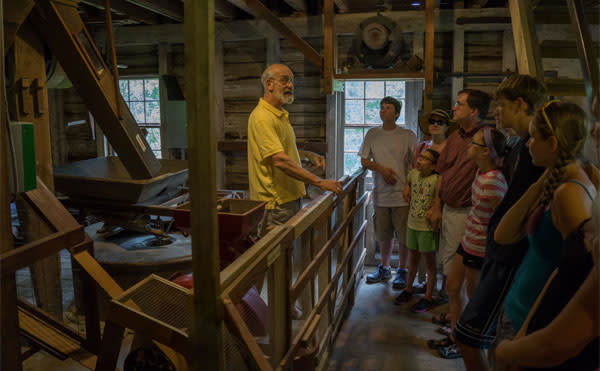 GRIST MILL DEMONSTRATION DAY