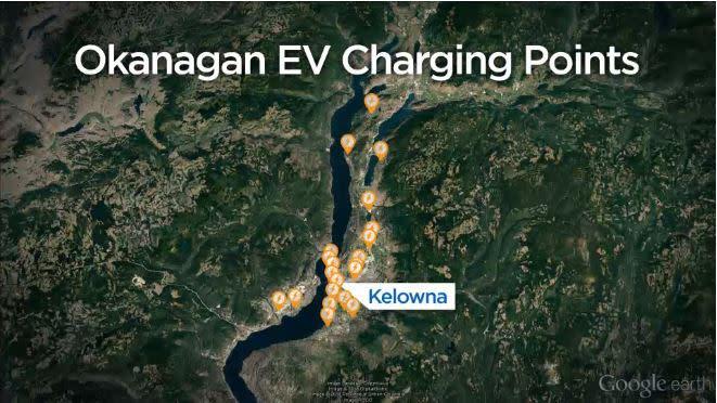 Global News Okanagan Electric Vehicle
