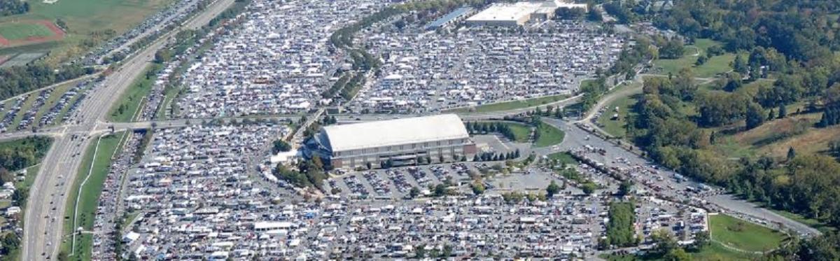 AACA Eastern Regional Fall Meet Aerial Photo