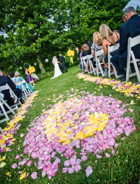 Wedding Ceremony - Chateau Morrisette