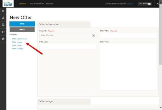 Extranet Update Offer