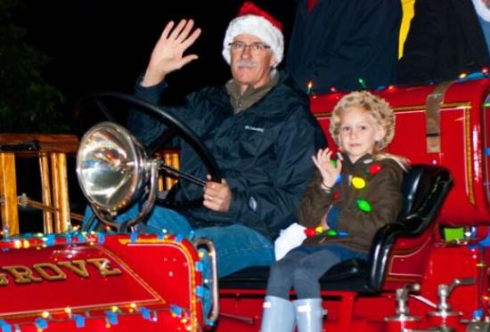 Pacific Grove Holiday Light Parade