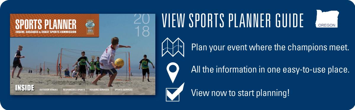 Sports Planner Promo by Eugene, Cascades & Coast Sports Commission
