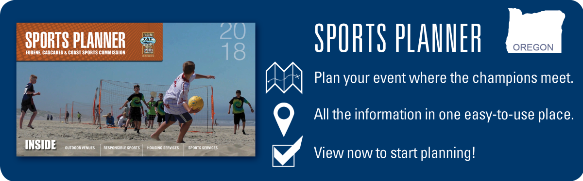 2018 Sports Planner Promo by Eugene, Cascades & Coast Sports Commission