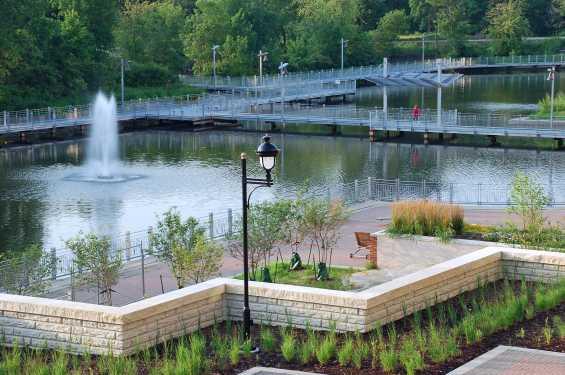 Iowa River Landing Wetlands Park