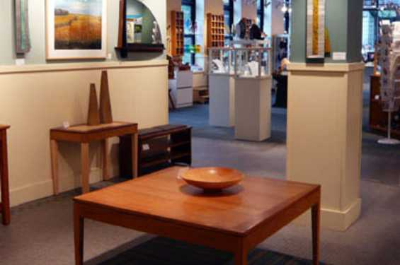 Iowa Artisans Gallery interior view