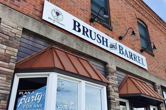Brush and Barrel Exterior