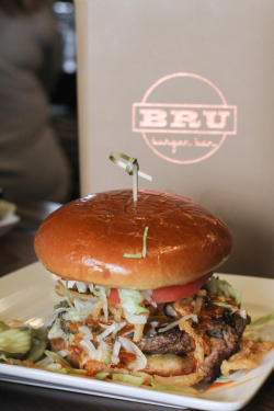 Mexacali Burger at Bru Burger in Plainfield.