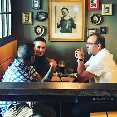 Pints&union guys talking