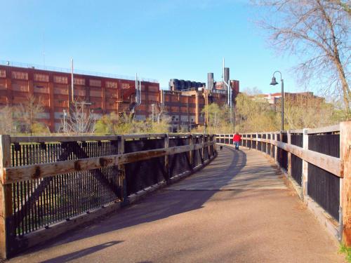 """Soo Line """"S"""" Bridge in Eau Claire, Wisconsin"""