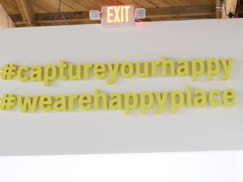 Signs at Happy Place