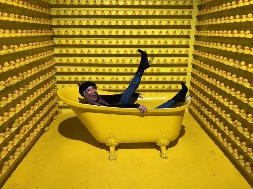 Bathtub Room at Happy Place