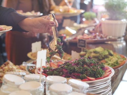 Habana Irvine Brunch Salad Bar